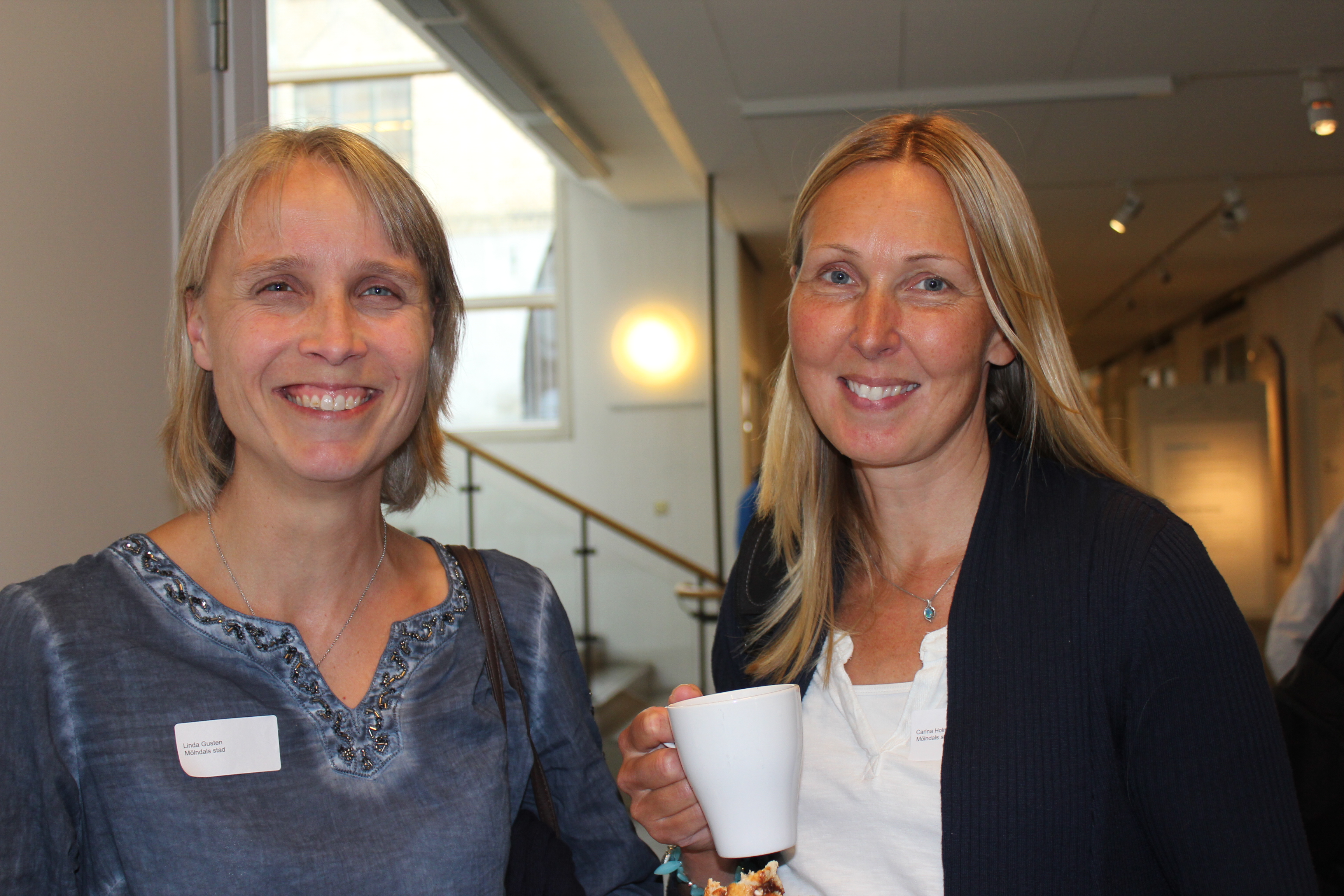 6. Linda Gusten och Carina Holm Mölndal